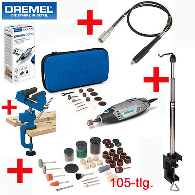 dremel multitool multifunktionswerkzeug 3000 15 105 tlg schneidvorrichtung eur 84 90. Black Bedroom Furniture Sets. Home Design Ideas