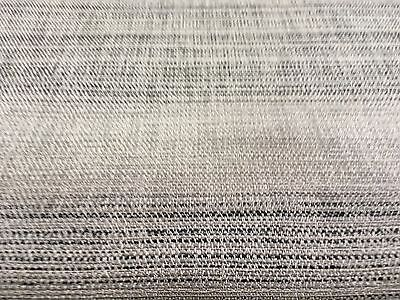 Next'  Blended Woven Stripe Charcoal' Upholstery Fabric £5.99 Per Metre