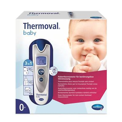 Thermoval® Baby Infrarot Thermometer Fieberthermometer, kontaktlos, 3 Sek.