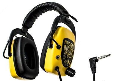 Nugget Busters Gold Headphones