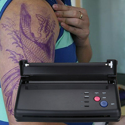 Tattoo Thermo Kopierer Thermal Tätowierung Transfer Printer Maschine A5-A4