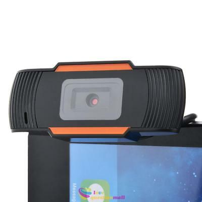 HD 12MP CMOS USB Clip-on Webcam Rotatable Camera with Microphone MIC For Windows