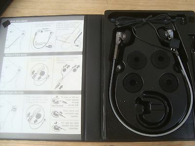 NEW Dictaphone 878844 Deluxe Transcription Sound Set Headset [2 available]