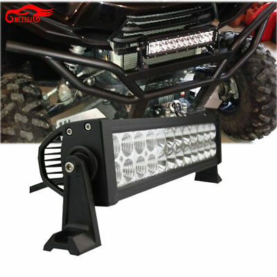"1PC 12"" LED Light Bar Kit Spot Flood KAWASAKI TERYX TERYX4 750 800 2008-2016"