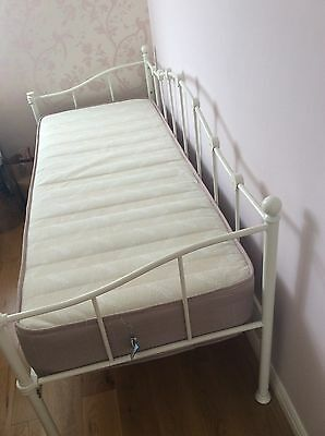 Cream single day bed