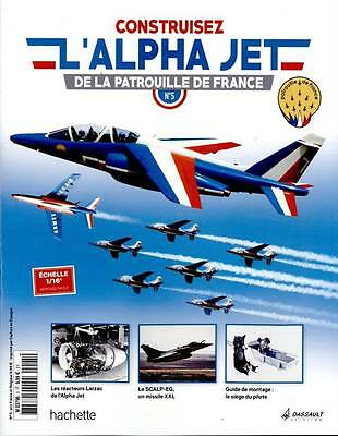 HACHETTE COLLECTION - Alpha Jet Patrouille de France 1/16 - N°12, N°13 et N°14
