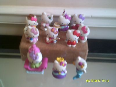Used Hello Kitty Lots of 11 Figures