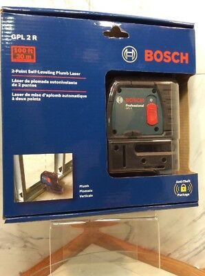 Bosch 2-Point Self-Leveling Plumb Laser NEW