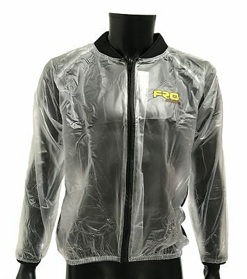 NEW Adult Clear Waterproof Race Jacket - Rain, Mud, Motocross, MX, FRO Systems