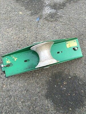 """Greenlee 659 22"""" Tray-Type Sheave"""