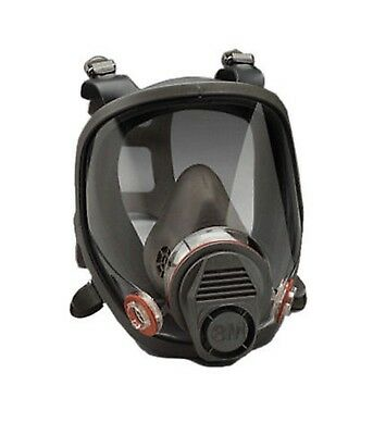 3M Full Facepiece Respirator 6900 Respiratory Protection Large
