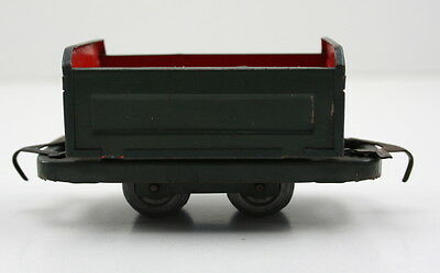 Biller Billerbahn US Zone Kastenwagen Blech Tin Toy #1525
