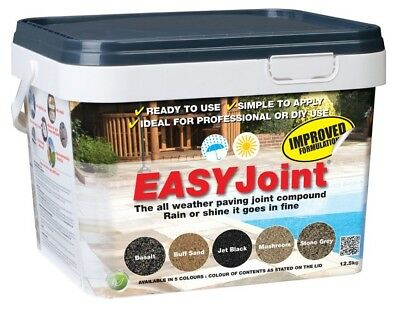 Easy Joint PAVING GROUT - BASALT -  Jointing compound 12.5kg