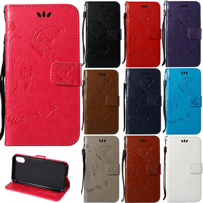 For Varous Luxury PU Leather Magnetic Flip Stand Card Slot Wallet Case Cover
