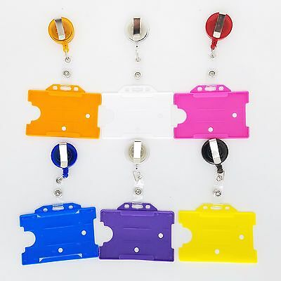 YoYo Retractable Badge Reel Lanyard with ID Card Badge Holder by GN Enterprises