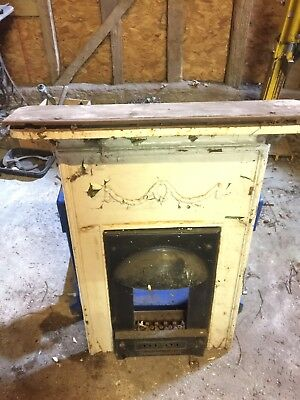 Edwardian Cast Iron Bedroom Fireplace Sound And Ideal For