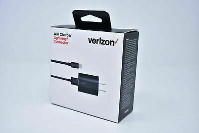 Verizon OEM Car Home Wall Charger Lightning USB Cable For iPhone XS Max 8 7 Plus