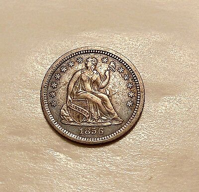 1856-O Liberty Seated Half Dime - Better Date - Sharp Looking Coin