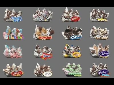 ICE CREAM VAN  Sticker tray Please State Which One you require