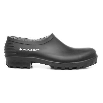 Dunlop Mens Wellington Shoe Garden Welly Shoe in Black