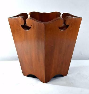 Arts & Crafts Mission Style Waste Basket Trash Can By Stickley