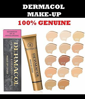 Dermacol Film Studio Legendary High Covering Foundation Concealer Make Up Uk P&p