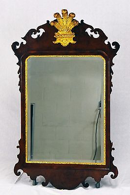 FRIEDMAN BROTHERS Williamsburg Prince Of Wales Mirror/Looking Glass Chippendale