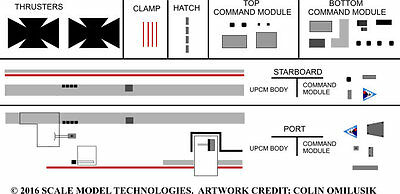 1/48 scale Ultraprobe Command Decals
