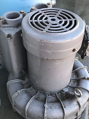 VFC500A-7w Regenerative Blower/ 3 phase ring compressor