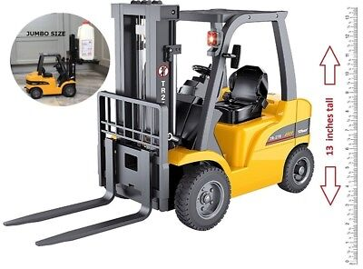 Top Race® Top Race Top Race Remote Control Forklift, 8 Channel Full Functional
