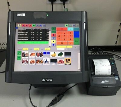 Touch Screen Epos Till System, Cash Register Till For Restaurant, Cafe, Shop
