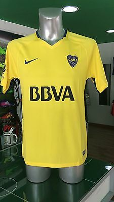 Soccer Jersey Jersey Football Aboca Juniors Nike Away 2017/2018 Yellow Cabj