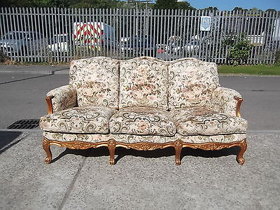 Shabby Chic French Style 3 Seater Sofa     Delivery Available
