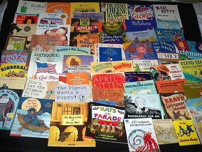Lot 56 Picture Reading Books K-6 Lionni Stellaluna Steig McCluskey Many are NEW
