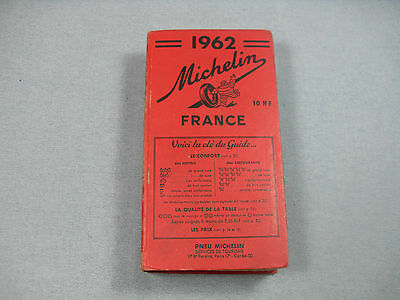 Guide rouge Michelin 1962