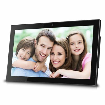 19 Inch Wifi Cloud Digital Photo Frame With Front Carema, Remote Control, Free