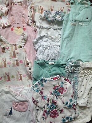 Baby Girls 3-6 Months Next Clothes Bundle Joules