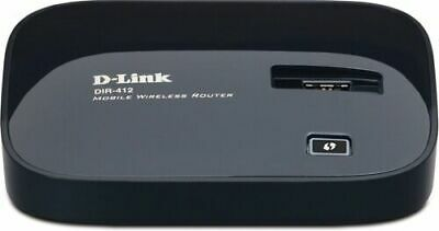 NEW D-Link DIR-412 802.11N Mobile Wireless 3G Router Black