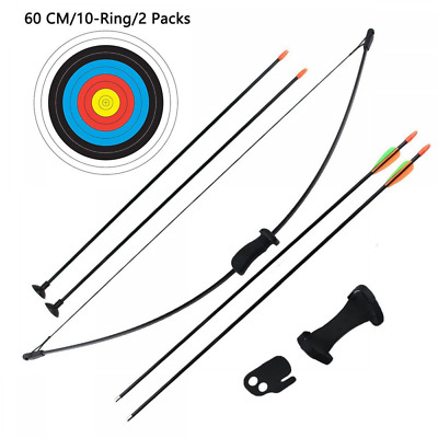 Outdoor Recurve Bow and Arrow Set Children Junior Archery Training Toy Game Gift