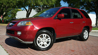 2005 Acura MDX Touring 1-OWNER SUNROOF LEATHER RUNS PERFECT!!!!!! RUNS AND DRIVES PERFECT ICE COLD AC SUPER LOW RESERVE FLORIDA CAR!