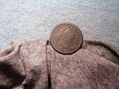1797 Large Cent!! VF+ Detail! S-134, R4! (193)