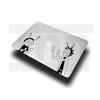 "Rick And Morty Apple Macbook Sticker Decal Vinyl Pro Air 13"" 15"" 17"""