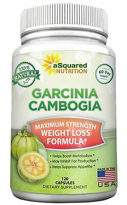 aSquared Nutrition Garcinia Cambogia Extract Weight Loss HCA Supplement - 100...