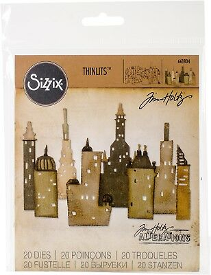 Sizzix Thinlits Die Set 18 Pack Cityscape Metropolis by Tim Holtz (SXTH661804)