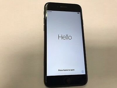 AT&T iPhone 7 128GB Matte Black A1778 BLACKLISTED Parts only