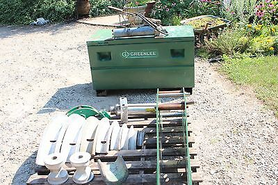 Greenlee 884 885 Hydraulic Bender 1 1/4 To 5 Inch With Pump Works Fine