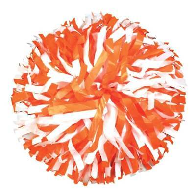 Pair of Two-color Getz Plastic Mix Cheerleading Pom Poms