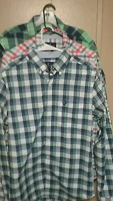 Lot of 3 Men's Shirts By American Eagle Size Small