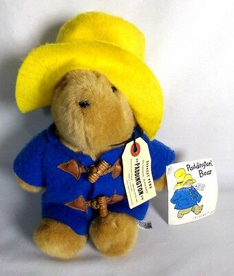 Vintage 1988 Eden Paddington Bear Stuffed Animal Teddy Bear 10""
