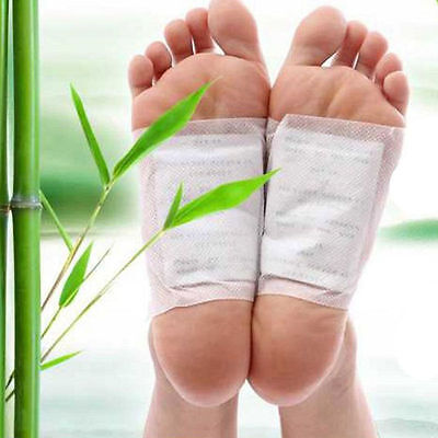 10x Gold Detox Foot Pads Patch Detoxify Toxins Adhesive Keeping Fit Health Care